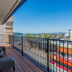 Penthouse Deck with Bay Views